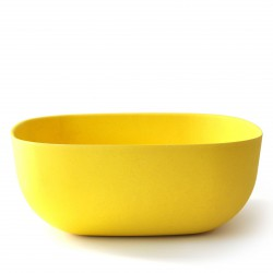 Large Salad Bowl Lemon Biobu Gusto by Ekobo