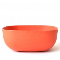 Large Salad Bowl Persimmon Biobu Gusto by Ekobo