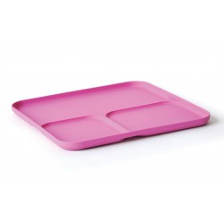 Divided Tray Rose Biobu Bambino by Ekobo