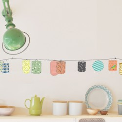 Wall border Sticker Lanterns Mimilou