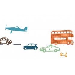 Wall border Sticker Cars Mimilou