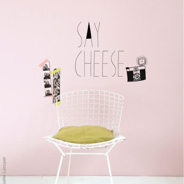 Wall sticker Say Cheese Mimilou