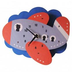 Horloge Murale Avion pour Enfants Modern Moose