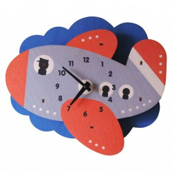 Jet Plane Clock by Modern Moose