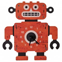 Robot Clock by Modern Moose