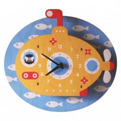 Horloge Murale Périscope pour Enfants Modern Moose