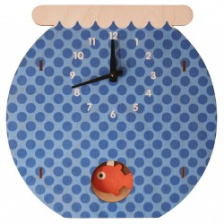 Fishbowl Pendulum Clock by Modern Moose