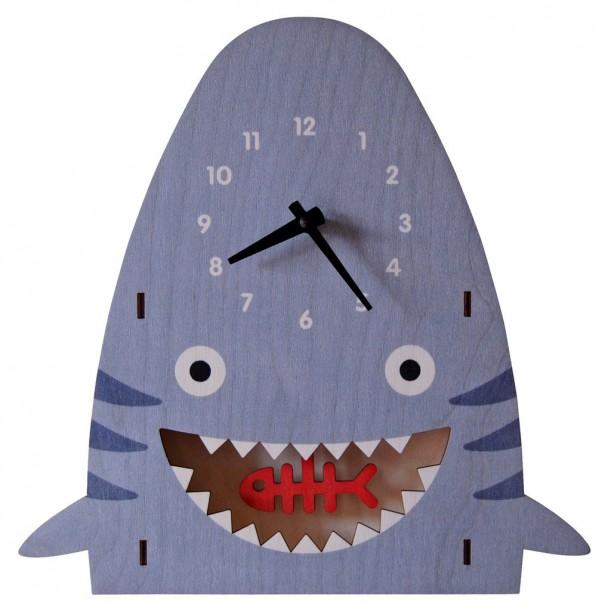 Horloge Murale à Balancier Shark pour Enfants Modern Moose