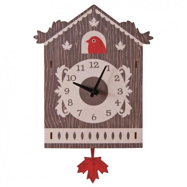 Cuckoo Pendulum Clock by Modern Moose