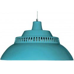 Grande Lampe Suspension Bleu Petrole Diam 50 cm Waterquest