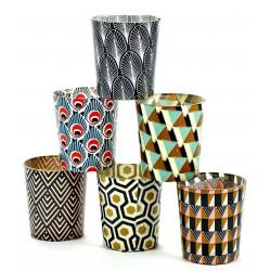 6 Candle Jars Vintage Marie Serax