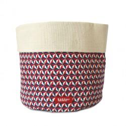Petit Panier Souple Bintang en Coton Bakker