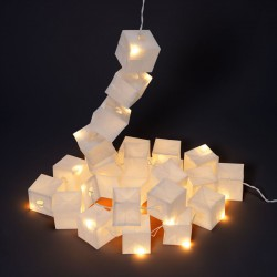 String of Fairy White Cubic Lights LED Tsé Tsé