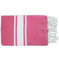 Fouta Flat Weaving Fushia Pink