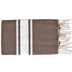 Fouta Flat Weaving Choco