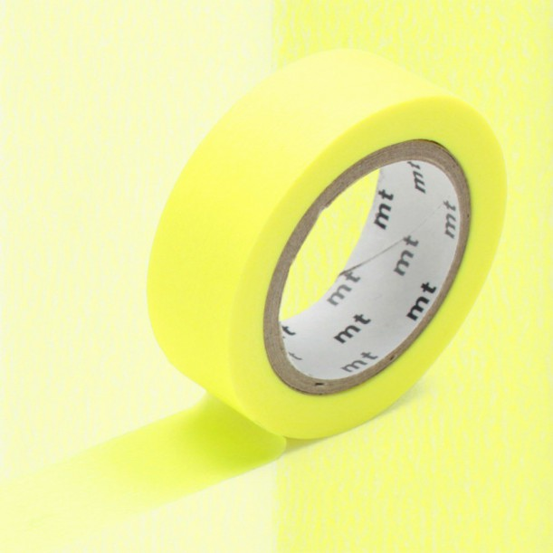 Masking Tape MT Shocking Yellow