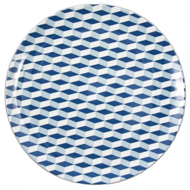 Melamine Plate Bowie Bakker