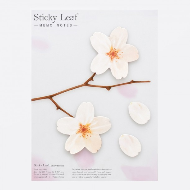 Sticky Leaf Cherry Blossom Studio Appree