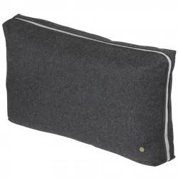 Dark Grey Wool Cushion Ferm Living