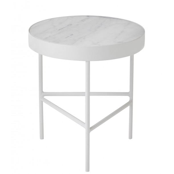 Coffee Table White Marble Medium Ferm Living