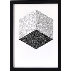 Affiche Cube Oelwein