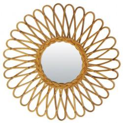 Rattan Vintage Mirror Atom Bakker