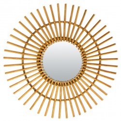 Rattan Vintage Mirror Soleil Bakker