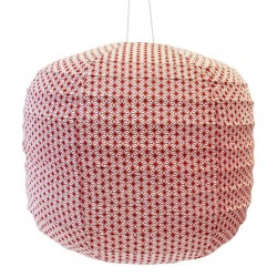 Large Fabric Lantern X Red Bakker