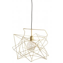 Asymmetric Gold Pendant House Doctor