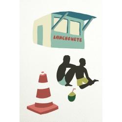 Print Lanchonete by Vivez l'Instant