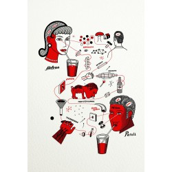 Print Chemical Love by Vivez l'Instant