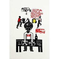 Affiche Jaca Mole de Vivez l'Instant
