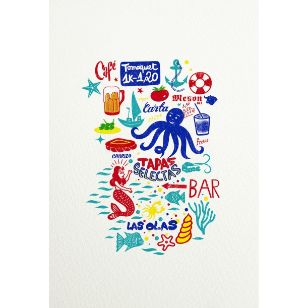Print Las Olas by Vivez l'Instant