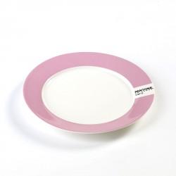 Petite Assiette Plate Pantone Rose 1767C Diam 20 cm Serax