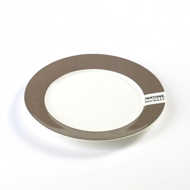 Petite Assiette Plate Pantone Gris 8C Diam 20 cm Serax