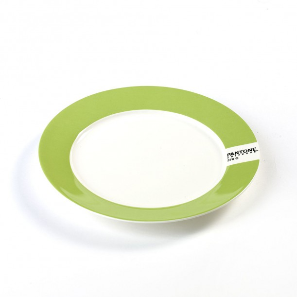 Small Plate Light Green 376C Pantone Diam 20 cm Serax