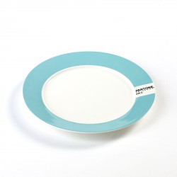 Small Plate Pale Blue 630C Pantone Diam 20 cm Serax