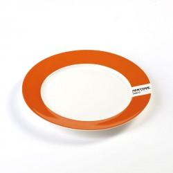 Small Plate Orange 1505C Pantone Diam 20 cm Serax