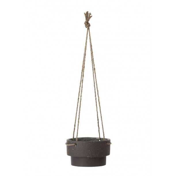 Pot Suspendu Plant Hanger Low Diam 21,5 H 13 cm Ferm Living