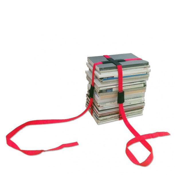 Stool Book Fuchsia Eno