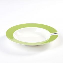 Assiette Creuse Pantone Vert Clair 376C Diam 22 cm Serax