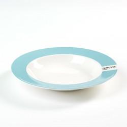 Assiette Creuse Pantone Bleu Pâle 630C Diam 22 cm Serax