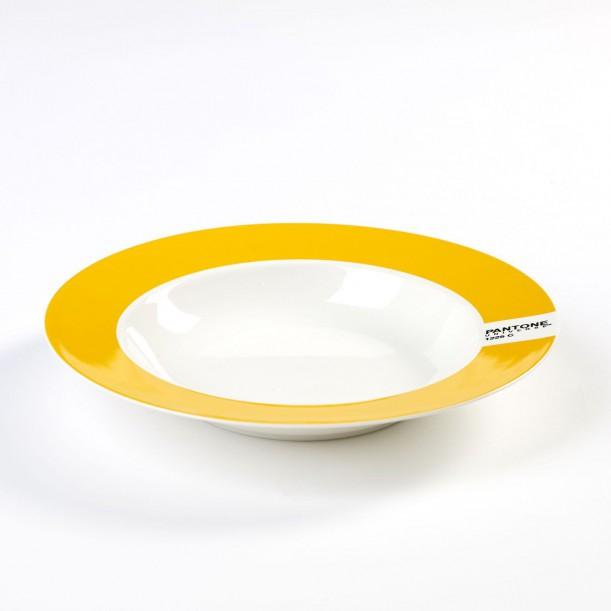 Soup Plate Yellow 1225C Pantone Diam 22 cm Serax