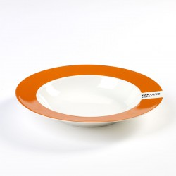 Assiette Creuse Pantone Orange 1505C Diam 22 cm Serax