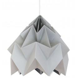 Moth Origami Pendant Grey XL Diam 40 cm Snowpuppe