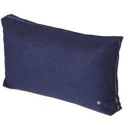 Dark Blue Wool Cushion Ferm Living
