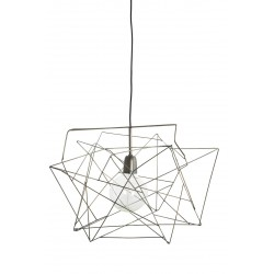 Lampe Suspension Asymmetric Gris Métal House Doctor