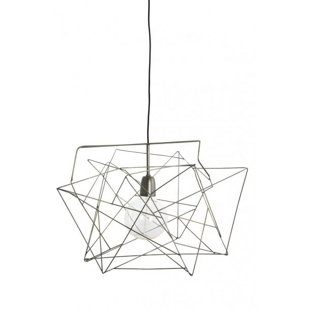 Lampe Suspension Asymmetric Gris Métal House Doctor