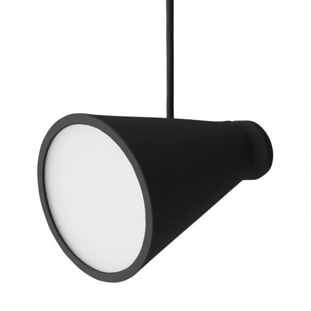 Lamp Bollard Black Table Lamp or Pendant by Menu