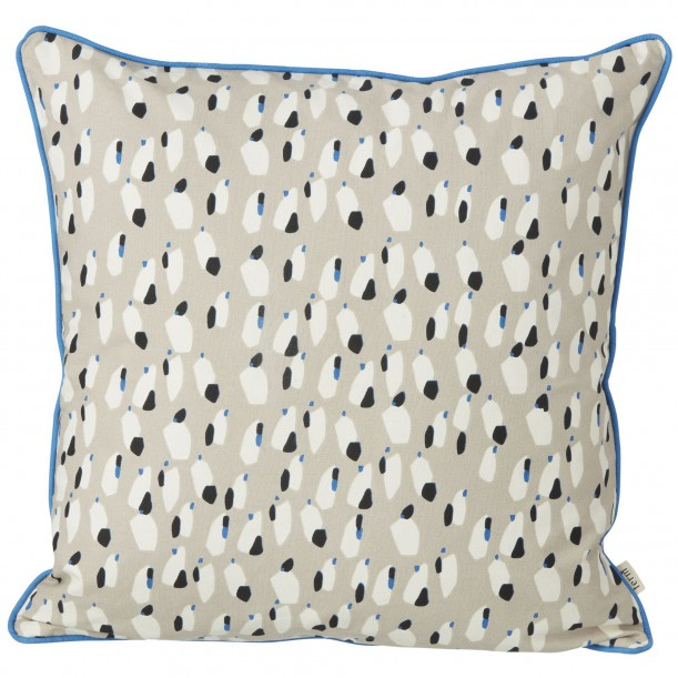 Spotted Cushion Grey 50 x 50 cm Ferm Living